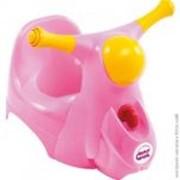 Дитячий горщик Scooter із звуковою фарою, колір малиновий, артикул 38226630 фото
