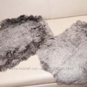 Шкурки кролика-цвет -чернобурка фото