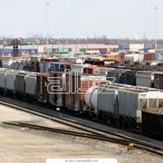 Железнодорожные перевозки сборных грузов фото