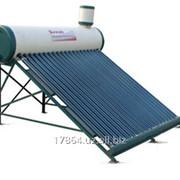 Солнечный водонагреватель с вакуумным коллектором фото