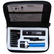Портативное зарядное устройство + фонарик (В чехле) фото