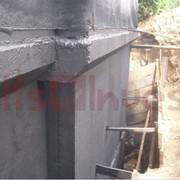 Гидроизоляция бетона, битумных покрытий, кирпича, гидроизолировать фундамент фото