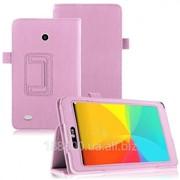 Чехол-книжка Кожаный TTX для LG G Pad 7.0 (V400) Pink с функцией подставки фото