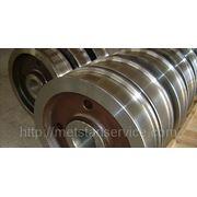 Крановое колесо двухребордное К2Р фото