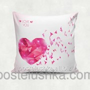 Подушка декоративная Diamond Heart 35х35 cм 12 фото