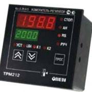 Измеритель ПИД-регулятор для управления задвижками и трехходовыми клапанами с интерфейсом RS-485 ОВЕН ТРМ212 фото