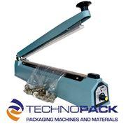 TechnoPack F-200 Запайщик пакетов импульсный настольный термоусадка пакетосшиватель (ширина шва 200 мм) фото