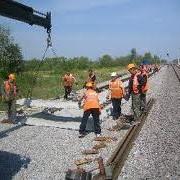 Техническое обслуживание и ремонт подъездных железнодорожных путей фото