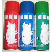 Краска маркерная для метки животных (Спрей на 500мл) фото