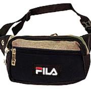 Поясная сумка №20 FILA черный фото