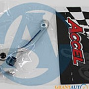 Алюминиевый рычаг тормоза с силиконовой вставкой Yamaha YZ YZF Accel Taiwan фото