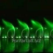Сочинение и запись свето-водоструйных композиций для светомузыкального фонтана фото