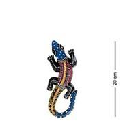 20-028 Панно настенное ''Геккон'' (албезия, о.Бали) 20 см., микс фото