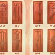 Отделка металлических дверей Харьков фото