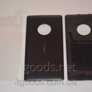 Крышка задняя черная для Nokia Lumia 830 + ПЛЕНКА В ПОДАРОК 4617 фото