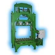 Вибропресс СТ-94 для производства тротуарной плитки и стеновых блоков фото
