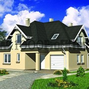Проект каменного дома 1536 фото