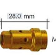 142.0253.5 Вставка для наконечника M10х1/M8 28,0 мм., для WT440 MS, Abicor Binzel фото