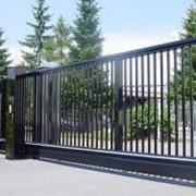 Откатные ворота Alutech фото