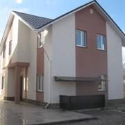 Строительство домов по технологии Термодом.термодом,строительство термодома, фото