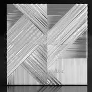 3d панель из гипса Crossing фото