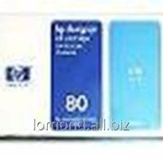 Картридж Ink HP c4872 №80 C for HP DJ 1050C/1055C 175ml фото