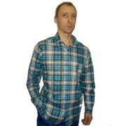 Рубашка мужская бязь. фото