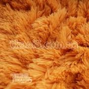 Ткань Мех травка 45 мм (медовый) 153 фото