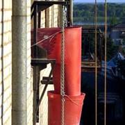 Рукава для сброса строительного мусора (мусоросброс) фото