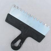 Шпатель зубчатый 250 мм 10*10 фото