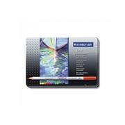 Набор карандашей цветных Staedtler karat aquarell, 12 цветов, металлический пенал 12 цветов фото