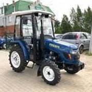 Мини- Трактор Русич Т- 244 гур с кабиной фото