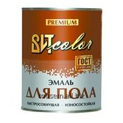 Эмаль для пола золотисто-кор. быстросохнущая ВИТ color 0,8 кг. фото