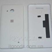 Крышка задняя белая для Microsoft Lumia 550 4742 фото