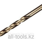 Сверло Зубр Эксперт Кобальт по металлу, цилиндрический хвостовик, Р6М5К5, класс точн. А1, 5х86мм Код: 4-29626-086-5 фото