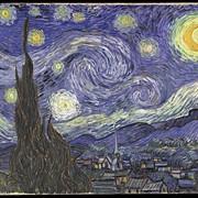 Репродукция картины. Винсент ван Гог «Звёздная ночь» фото