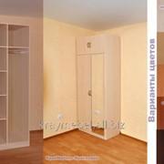 Шкаф комбинированный Л201кз с зеркалом Высота 2,2м, ширина 80см, глубина 52см цвет - фото