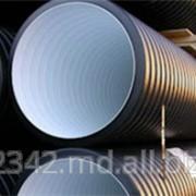 Двухслойные гофрированные канализационные трубы для безнапорной и ливневой канализации фото