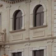 Облицовка фасадов травертином, гранитом, мрамором фото