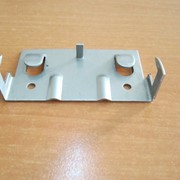 Кляммер из нержавеющей стали для вентфасада завершающий фото