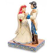 """Статуэтка """"Ариэль и принц Эрик (Молодожены)"""" 10,5х15,5х7,5см. арт.4056749 Disney фото"""
