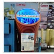 Внедрение гибридной установки - гелиосистема, тепловые насосы, латентный тепловой аккумулятор. Комплекс частотного регулирования на электродвигателях котельного оборудования.Автоматизированная система контроля и учета.Патент- Тепловой аккумулятор АКТ-300. фото