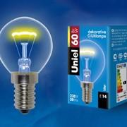 Лампы накаливания IL-G45-CL-60/E14 картон фото