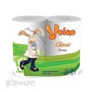 """Бумага туалетная на втулке """"Viero Classic"""" двухслойная, 4шт. белая 5с24 фото"""