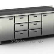 Стол холодильный / морозильный Cryspi серия 700 с узкими ящиками и дверьми СШС-6,2 GN-2300 фото