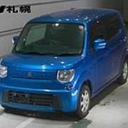 Хэтчбек 3 поколение SUZUKI MRWAGON кузов MF33S класса микровэн гв 2011 4WD пробег 52 тыс км цвет синий фото