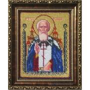 Схема для вышивания бисером ТМ Украинка- Икона Святой Сергий фото