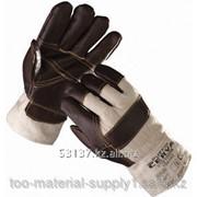 Перчатки рабочие кожанные фото