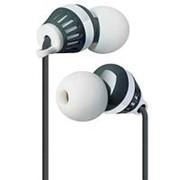Наушники вкладыши с микрофоном Defender Pulse 460 мобильная гарнитура для смартфонов, бело-чёрные фото