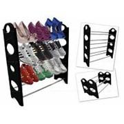 Стойка Для Обуви Stackable Shoe Rack, 4 полки фото